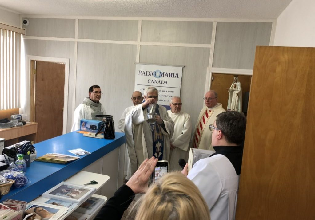 Montreal Relocation April 28 2018 Blessing of New Office